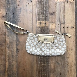 Coach Clutch Large